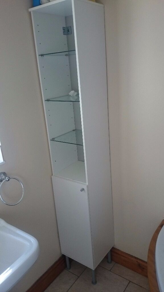 Bathroom storage with shelves Ikea's cabinet