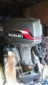 Suzuki dt55 outboard 2 stroke BREAKING FOR PARTS