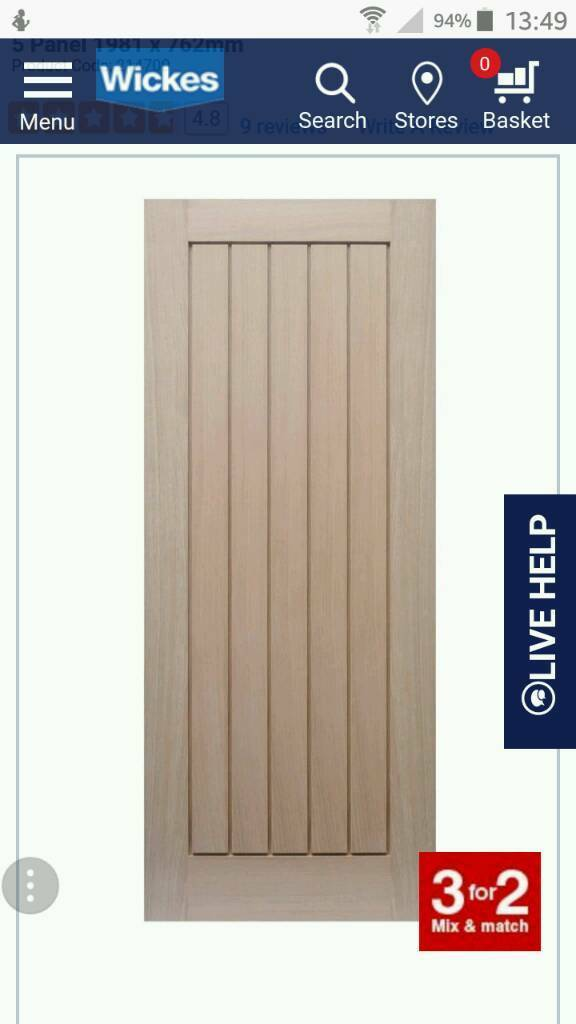 Geneva Oak Panel Fire door  sc 1 st  Gumtree & Geneva Oak Panel Fire door | in Calcot Berkshire | Gumtree pezcame.com