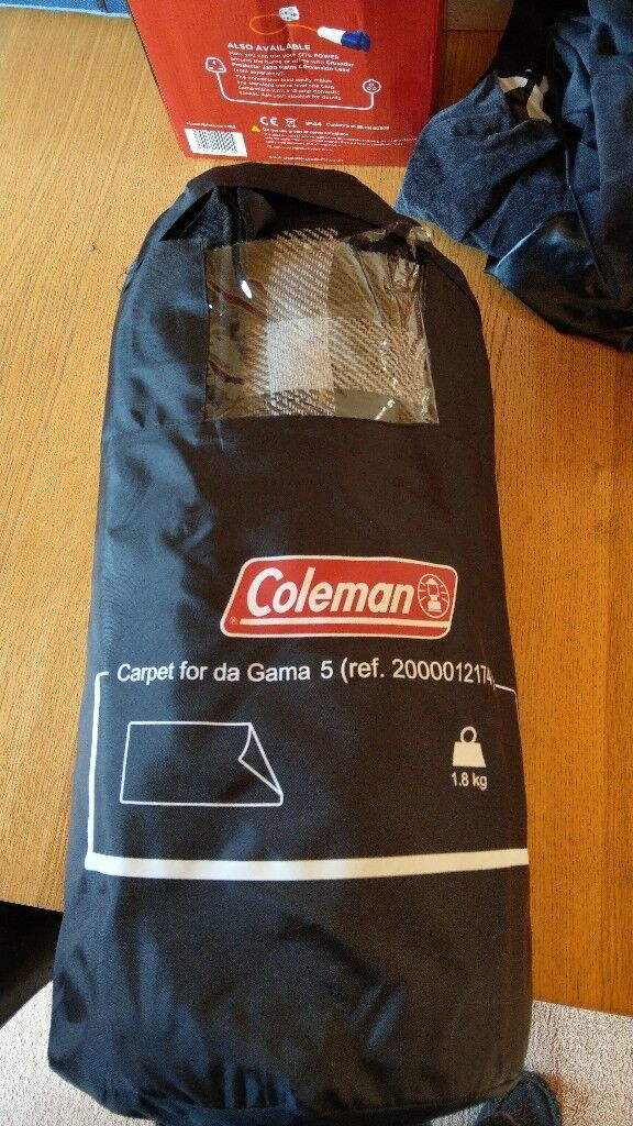 Coleman tent carpet 340 x 190cm & Coleman tent carpet 340 x 190cm   in Radcliffe Manchester   Gumtree