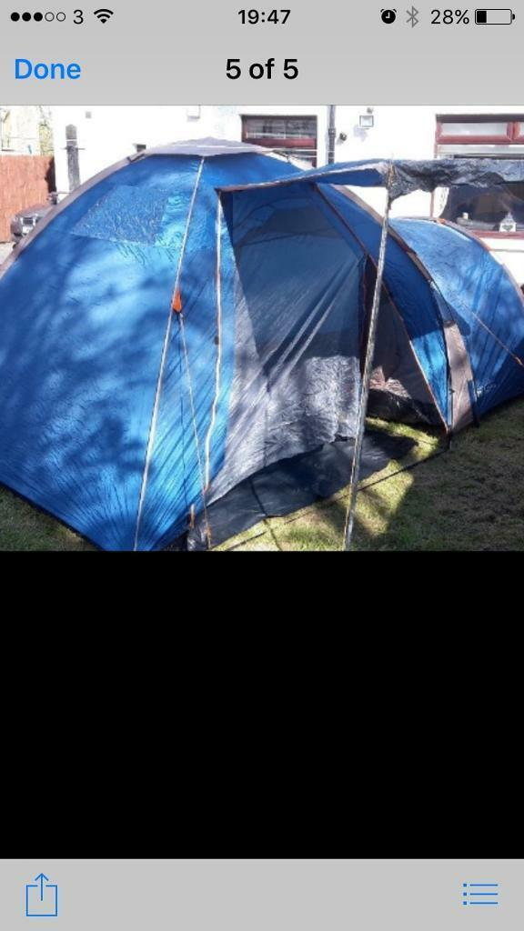 Sovereign 4 person tent & Sovereign 4 person tent | in Bonnybridge Falkirk | Gumtree