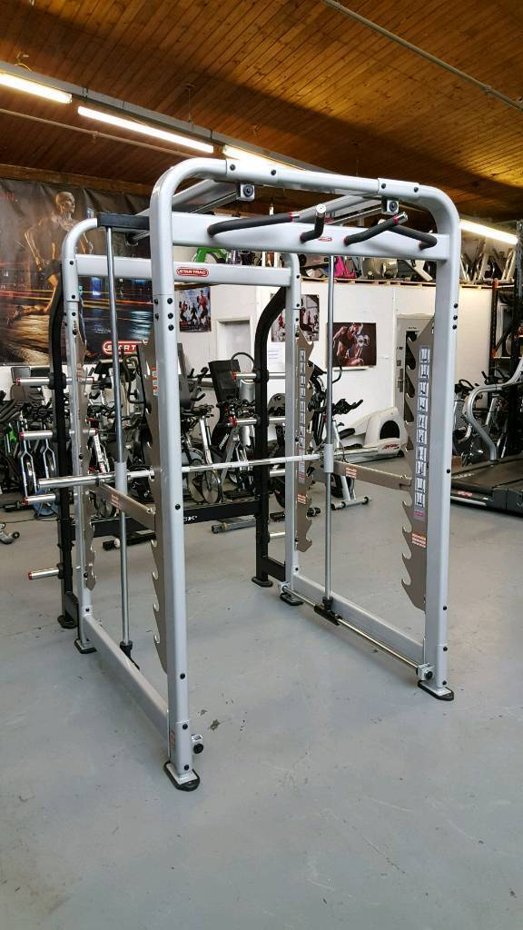 star trac max rack smith machine commercial gym equipment