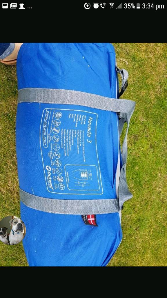 Outwell nevada 3 tent & Outwell nevada 3 tent | in Reading Berkshire | Gumtree