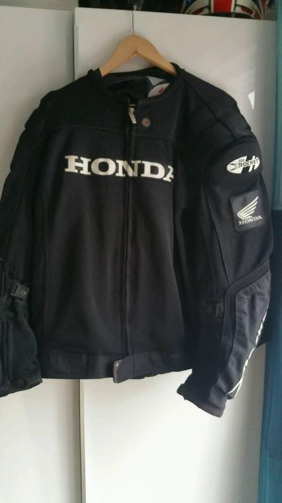 Superb Joe Rocket Honda Motorcycle Jacket
