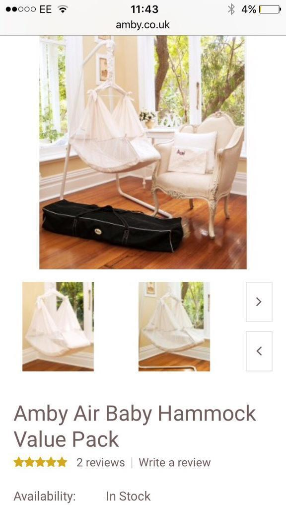 amby baby hammock  u0027nature u0027s nest u0027 plus travel bag amby baby hammock  u0027nature u0027s nest u0027 plus travel bag   in anstruther      rh   gumtree