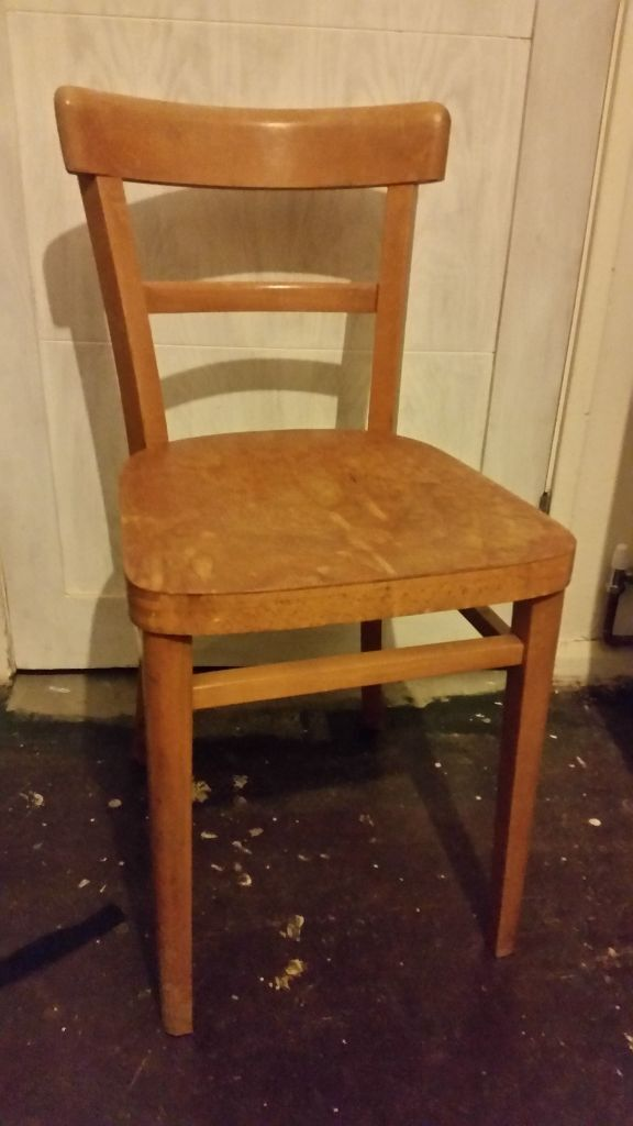 Wooden 1950s/60s Chair   Made In Yugoslavia (Stoe)