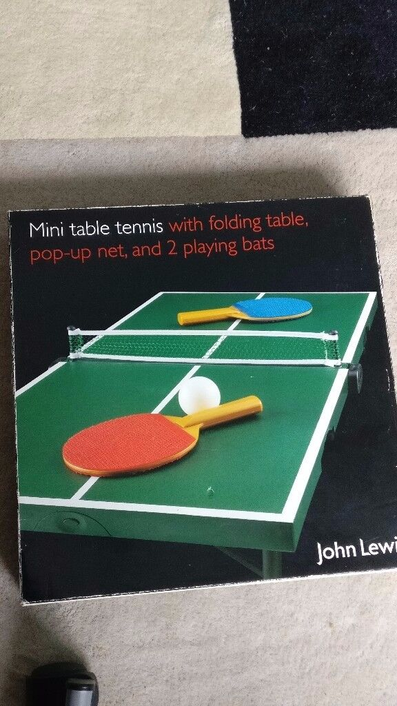 John Lewis Portable Mini Table Tennis set & John Lewis Portable Mini Table Tennis set | in Richmond London ...