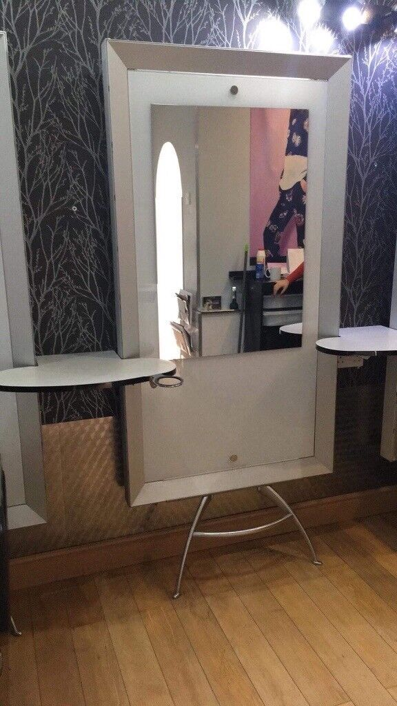 6 Barbour Hairdressers mirrors units and shelving & 6 Barbour Hairdressers mirrors units and shelving | in Kilmarnock ...