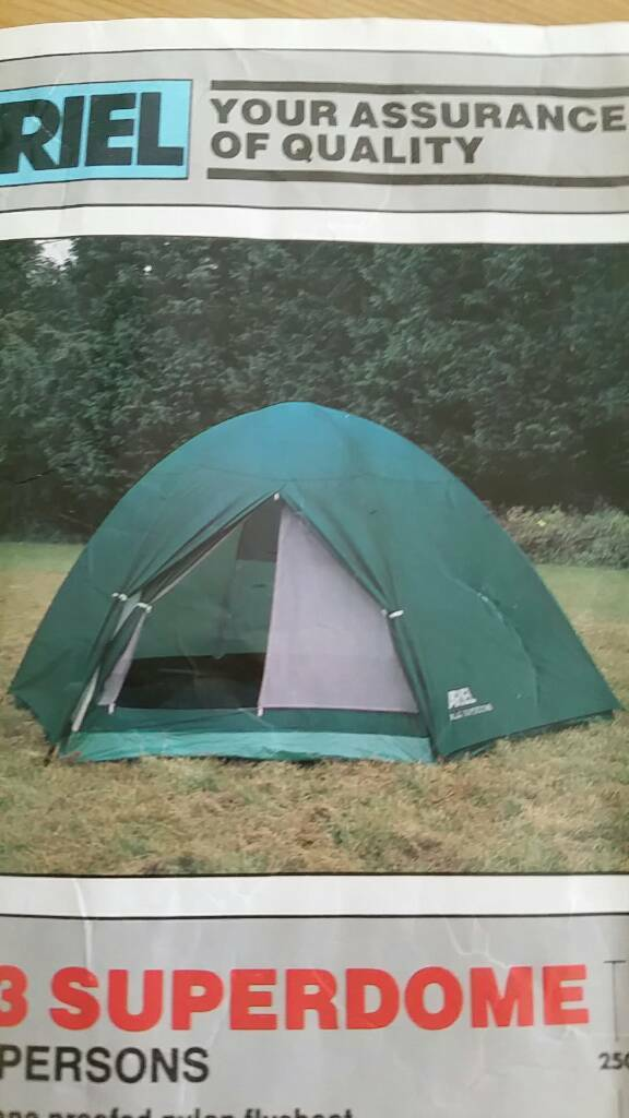 ARIEL 3/4 person tent & ARIEL 3/4 person tent | in Ramsey Cambridgeshire | Gumtree