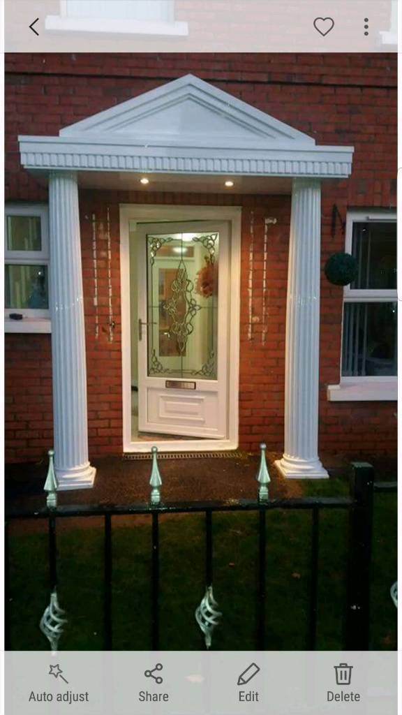 Pvc door canopy & Pvc door canopy | in Belfast City Centre Belfast | Gumtree