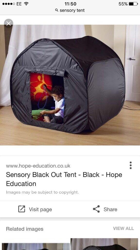 Pop up tent/sensory pod - BLACKOUT -Brand new & Pop up tent/sensory pod - BLACKOUT -Brand new | in Wemyss Bay ...