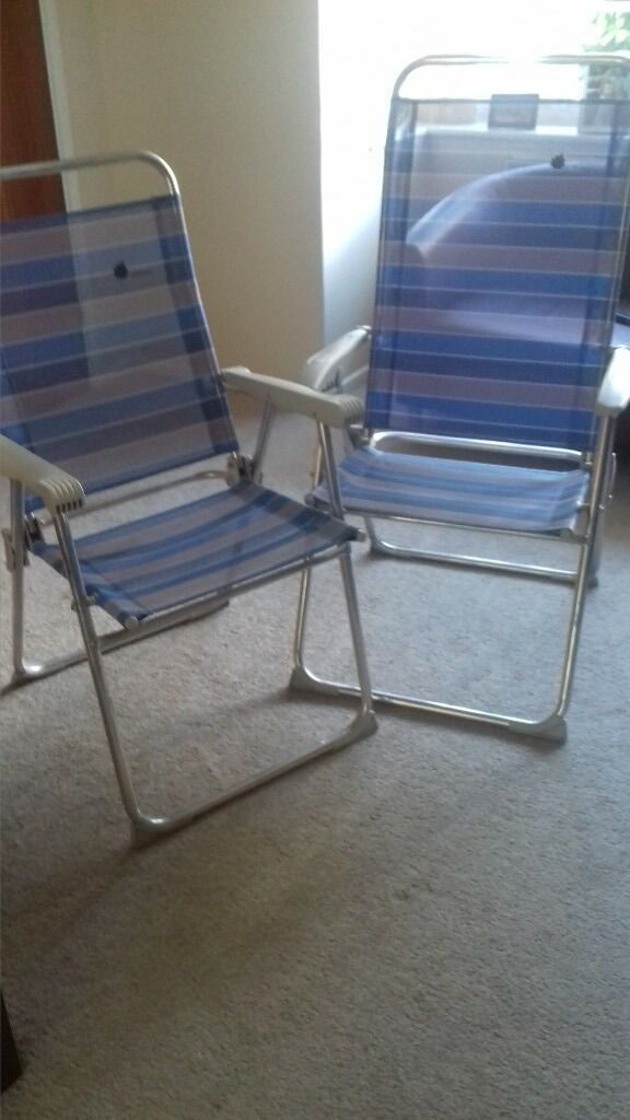 2x Lafuma Camping Chairs