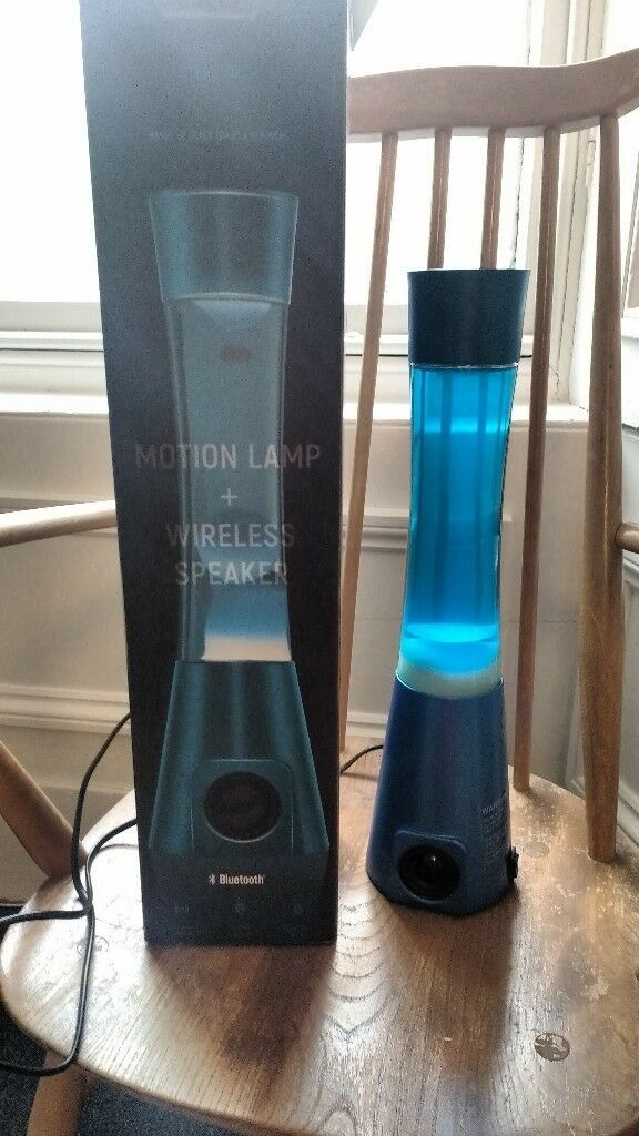 Lava Lamp With Speaker