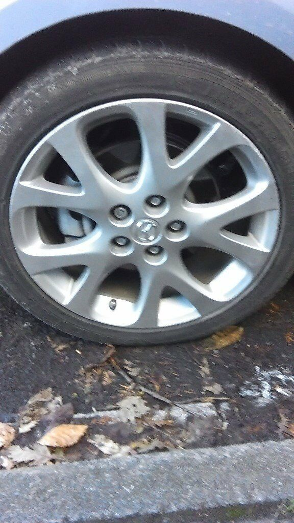 Mazda 6 Sports Spare Wheel With Tyre   Tyre Size 225/45 R18