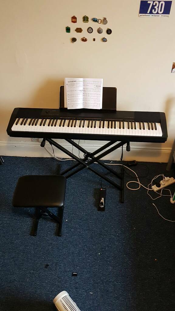 Casio CDP-130 electric keyboard / digital piano stand stool book and & Casio CDP-130 electric keyboard / digital piano stand stool ... islam-shia.org