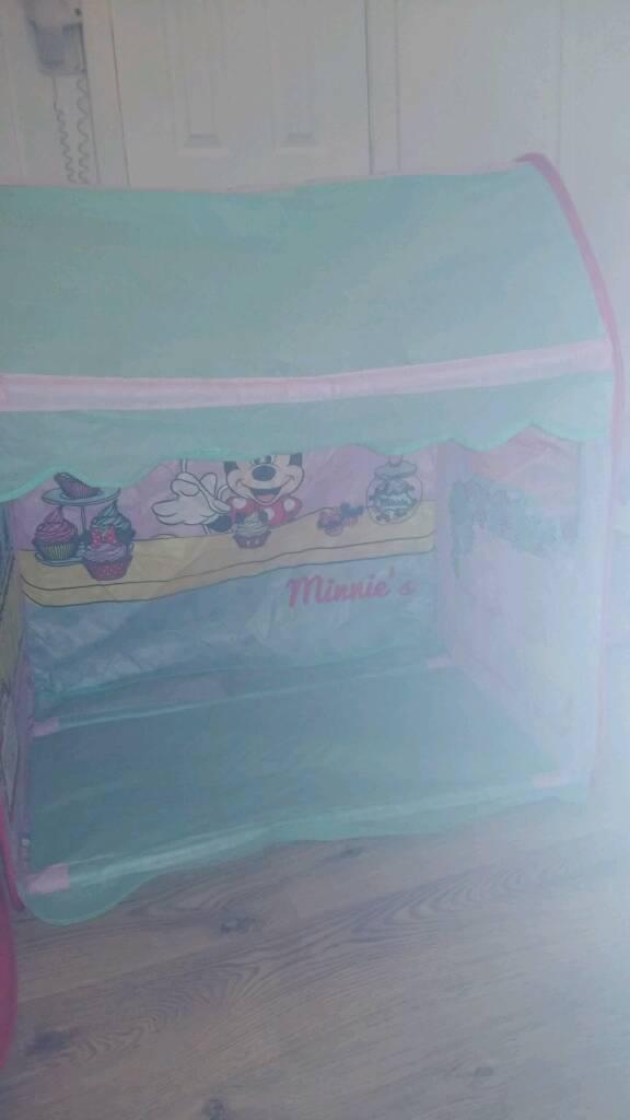 Minnie mouse pop up tent & Minnie mouse pop up tent | in Southside Glasgow | Gumtree