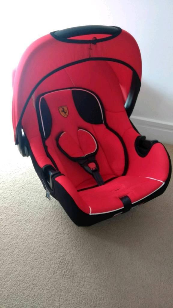 Ferrari Baby Car Seat Group 0+