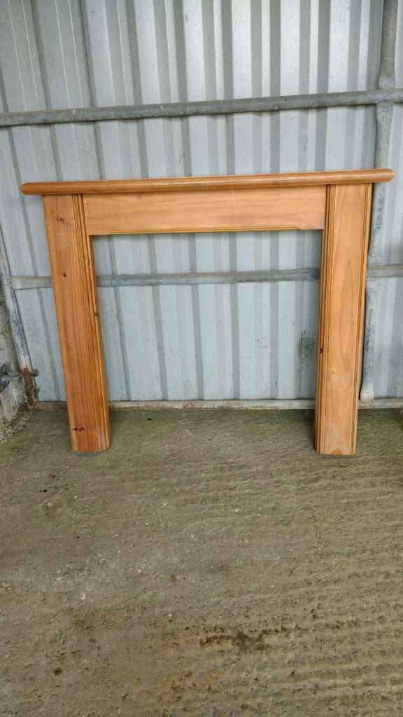 Solid Pine Fire Place Surround  in Honiton Devon  Gumtree