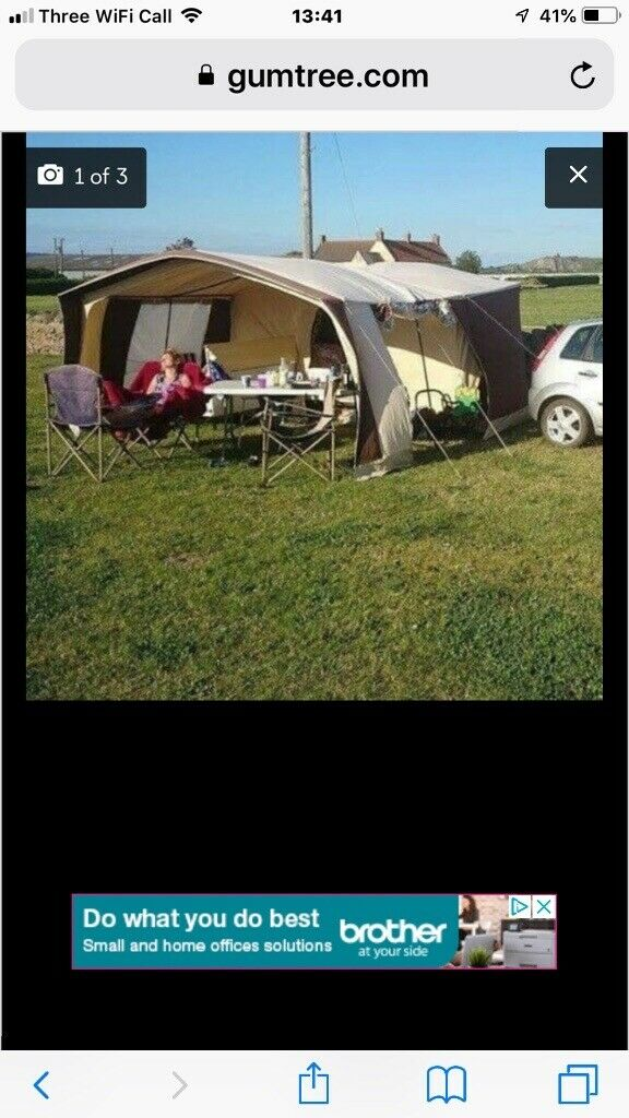 4-6 berth trailer tent old but good condition with gas cooker always had 3 covers on caravan  sc 1 st  Gumtree & 4-6 berth trailer tent old but good condition with gas cooker always ...