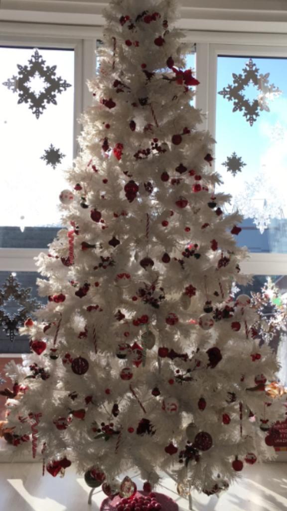 JOHN LEWIS WHITE CHRISTMAS TREE