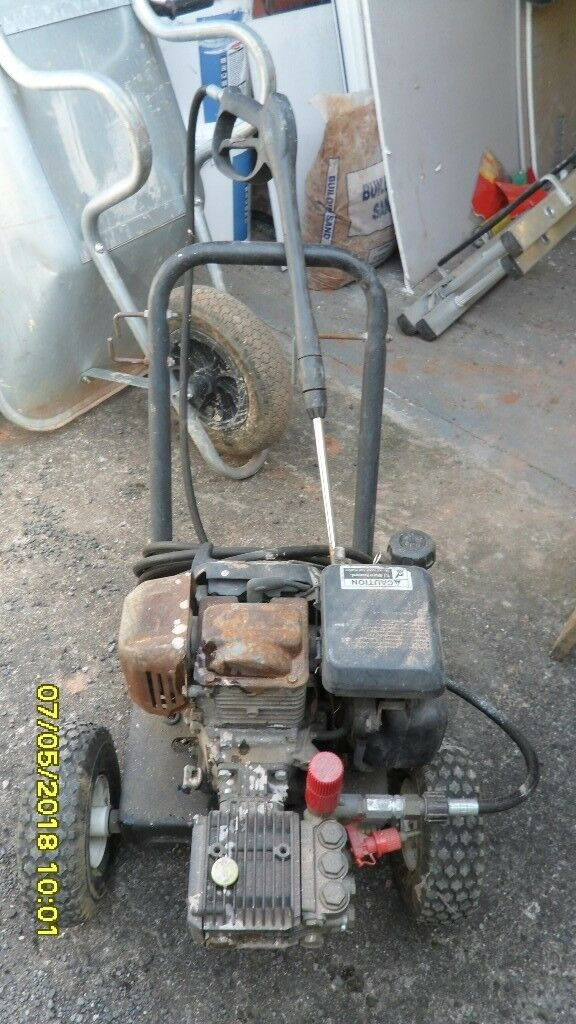 HONDA GC160 POWERED PETROL PRESSURE WASHER