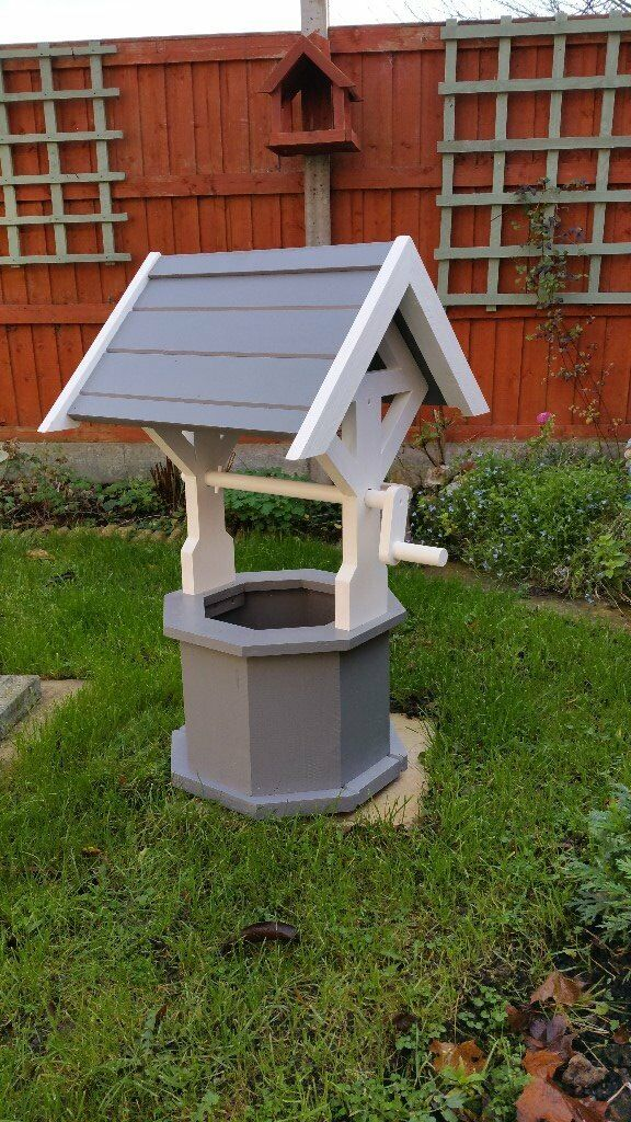 NEW*****wooden Garden Wishing Well *****NEW