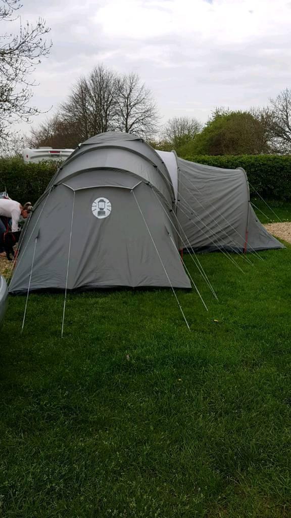 REDUCED Coleman Riverside 9 man tent plus extras & REDUCED Coleman Riverside 9 man tent plus extras | in Burton ...