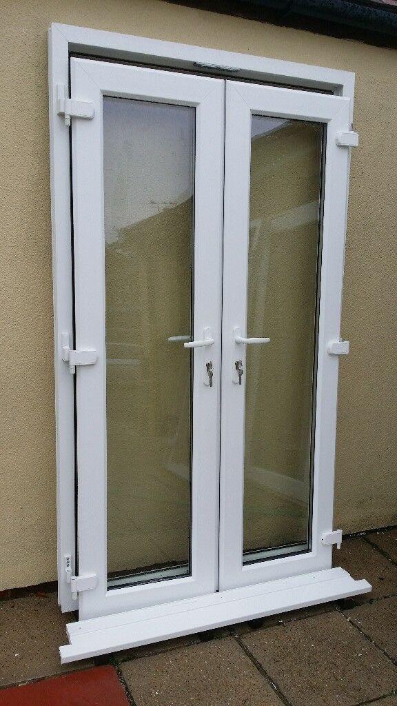 UPVC French / Patio Doors ( Rehau Doors) Excellent Condition 2 years old & UPVC French / Patio Doors ( Rehau Doors) Excellent Condition 2 ...