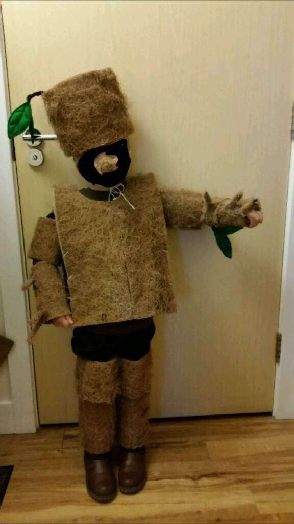 Kids Handmade Stickman Costume World Book Day & Kids Handmade Stickman Costume World Book Day | in Speedwell ...