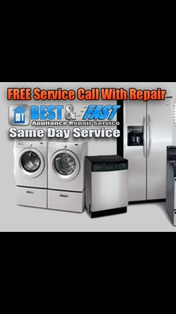 Washing Machine Repairs And Kitchen Appliance Repairs , NO Call Out Fee