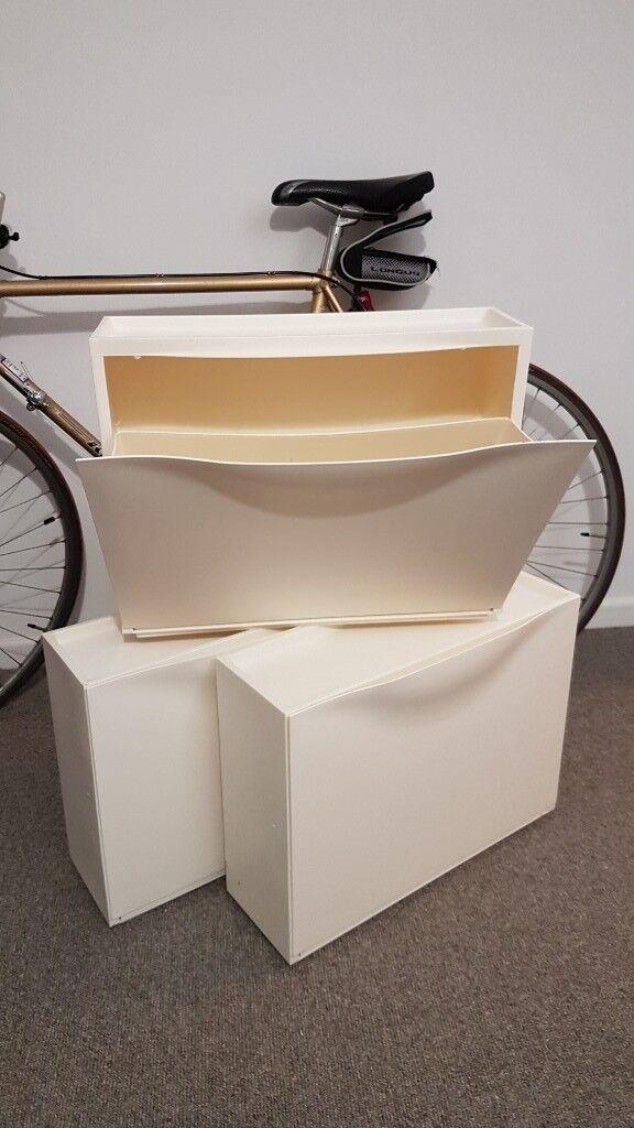 3x IKEA Trones Shoe Cabinet / Storage Used