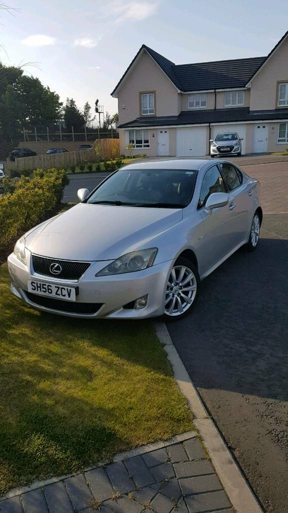 Excellent 2006 Silver Lexus IS 250 LOW MILEAGE No Advisories Long MOT