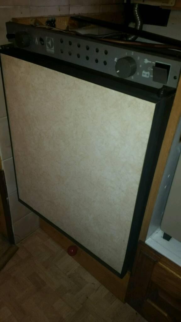 Electrolux RM212 3 Way Gas/240v/12v Fridge Freezer, For Caravan,