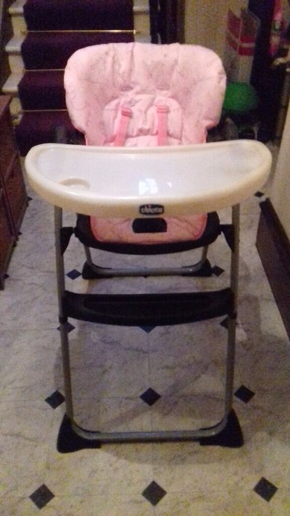 Girls Yum Yum Chicco High Chair