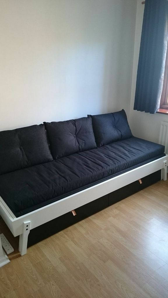 Ikea Ps Sofa Bed Cover For Ikea Ps Sofa Bed Blue Jeans