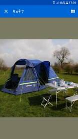 Berghaus air 4 tent & FRENCH ANDRE JAMET SUPERB CANVAS 2-4 PERSON FRAME TENT | in Perth ...