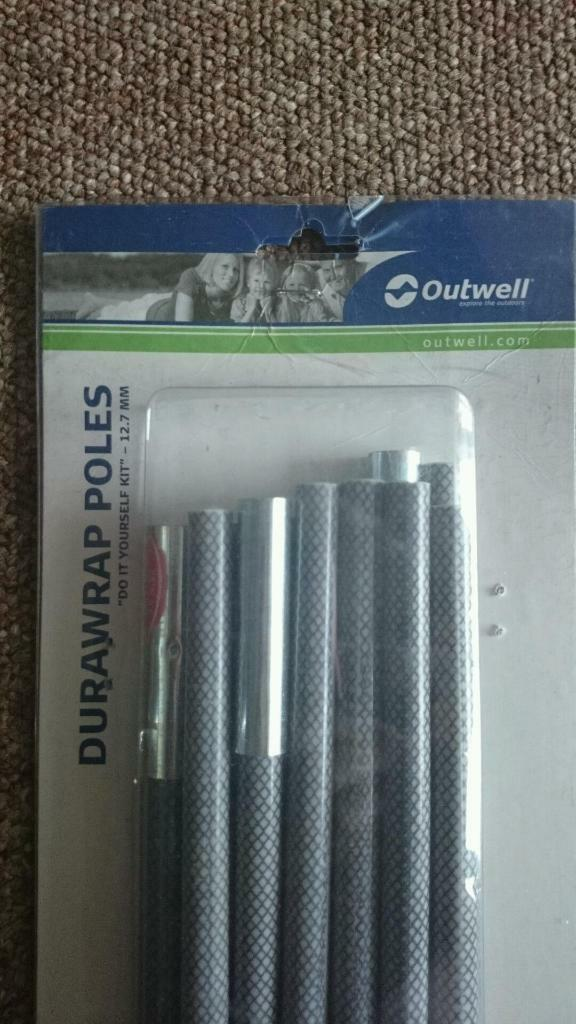 Outwell durawrap 12.7mm replacement tent poles. & Outwell durawrap 12.7mm replacement tent poles. | in Flitwick ...