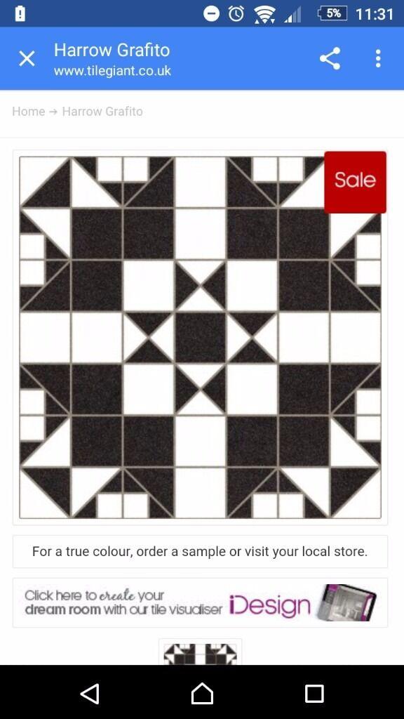 harrow grafito victorian ceramic floor wall tiles bu0026q wickes 15 square  metres