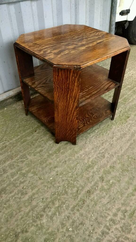 Coffee Table- Vintage Solid Oak for sale  in Honiton Devon  Gumtree