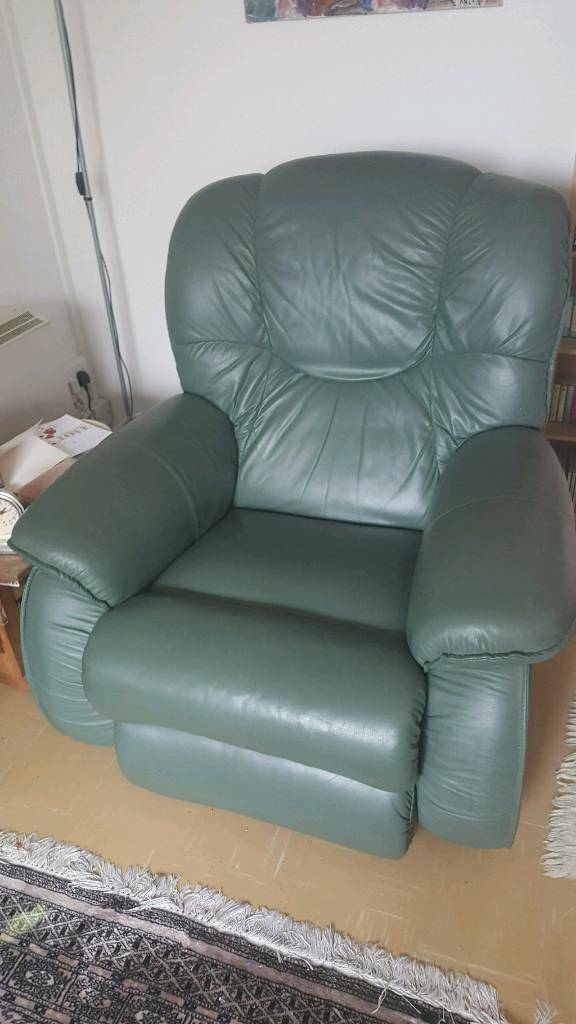 LAZY BOY Green leather recliner VGC & LAZY BOY Green leather recliner VGC | in Hailsham East Sussex ... islam-shia.org