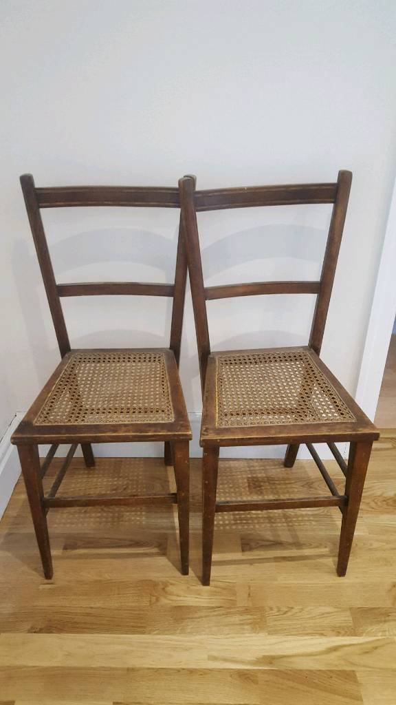 Delicieux Antique Cane Chairs | In Harrogate, North Yorkshire | Gumtree
