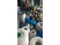 yarns for craft work or weaving