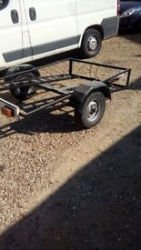 Trailer for quad or ride on mower 6' x 4'