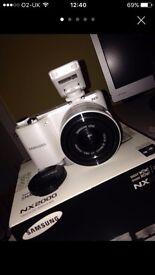 Samsung NX 2000 camera