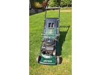 """ATCO Admiral 16"""" Petrol Mower-Good Working Order- Only Needs New Starter Cord"""
