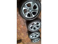 "BMW alloys 5x120 16"" VIVARO, TRAFIC"