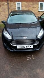 Black Fiesta 1.25 Zetec 3 door
