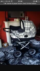 Mamas & Papas Utima universal pushchair, carrycot & highchair. 3in1 LIMITED EDITION