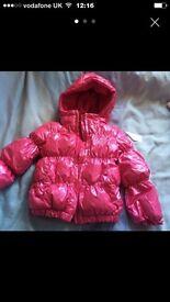 Baby girls jacket 9-12 months