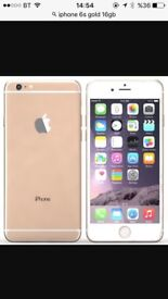 iPhone 6s 16gb gold colour (unlocked all networks)